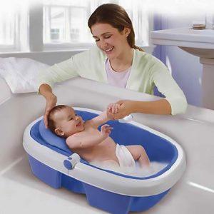 El miedo al agua de los bebes